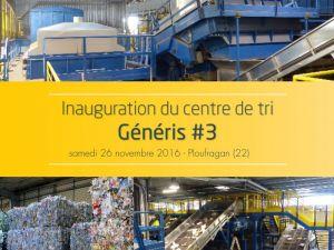 INAUGURATION DE GENERIS - Samedi 26 novembre