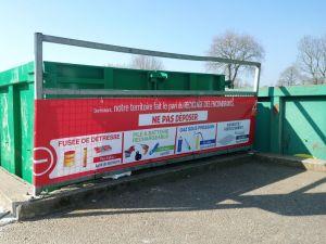 Prévention du risque  dans le recyclage des encombrants.